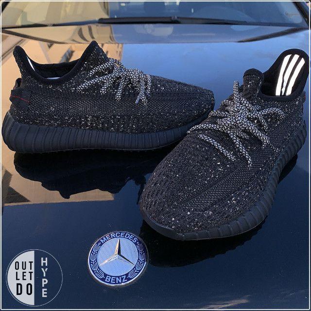 Adidas Yeezy Boost 350 V2 Black-Reflective - Foto 4