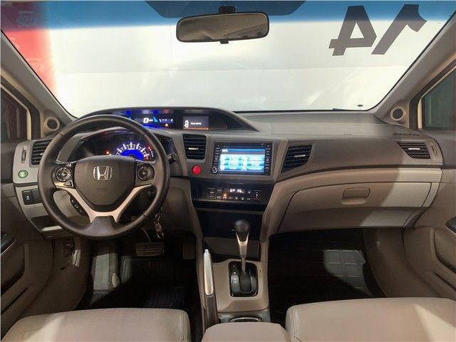 Civic EXR 2.0 Flex 16v Automático Maravilhoso! - Foto 14