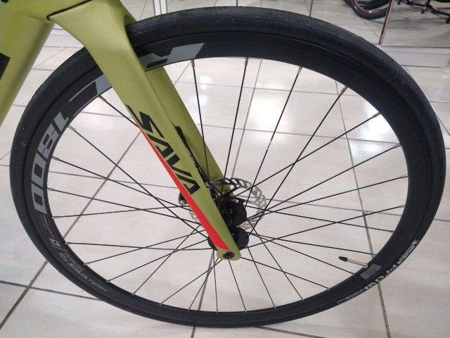 Bicicleta Speed Sava Road Disc - Foto 5