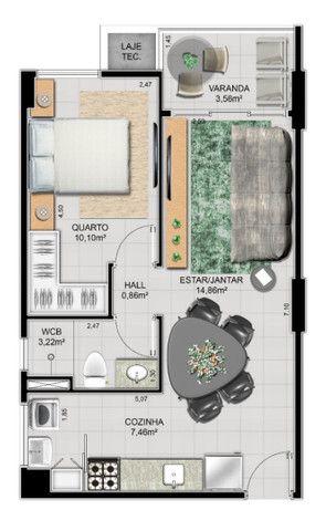 EDF Strauss AP 708, 205, more ou invista em um condomínio a duas quadras da praia. - Foto 3