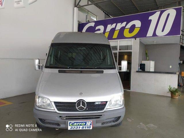 Mercedes-benz Sprinter 313 2009 teto alto com ar condicionado 15 lugares - Foto 2
