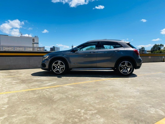 Mercedes GLA 250 Sport 2.0 2015 impecável, teto solar panorâmico, rodas 19, aceito troca - Foto 9