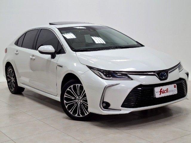 corolla altis premium hybrid 1.8 flex 2021 aceito troca
