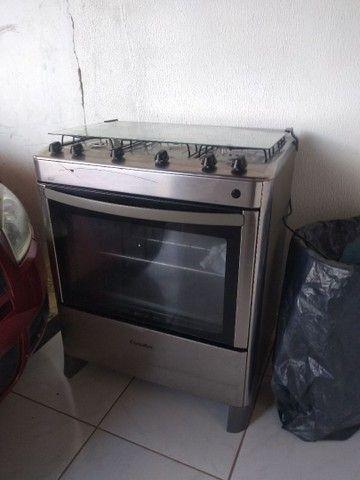 Vendo fogão 5 bocas esmaltec - Foto 3