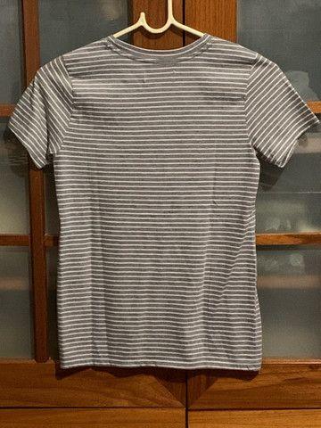 Camiseta cinza da holister original  - Foto 2