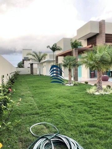 Linda casa térrea em Jacuipe, condomínio fechado , sendo 4 suítes totalmente equipada e de - Foto 12