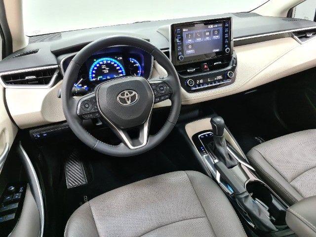 corolla altis premium hybrid 1.8 flex 2021 aceito troca - Foto 18