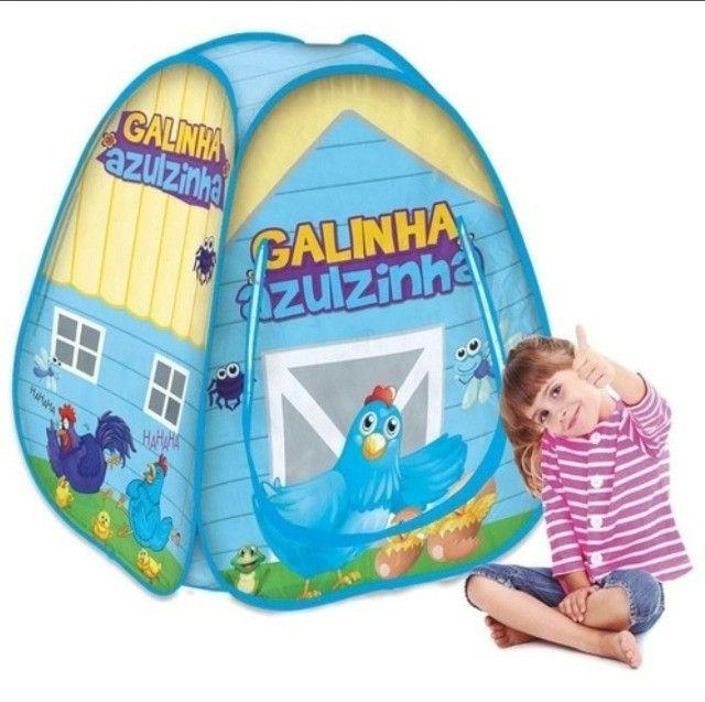 Barraca Galinha Azulzinha