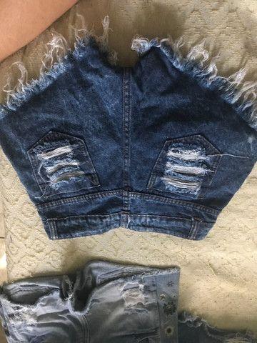 Short jeans 36 - Foto 2