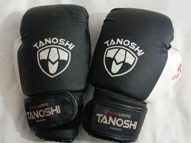 2 Luvas de box tanoshi 12oz  - Foto 2