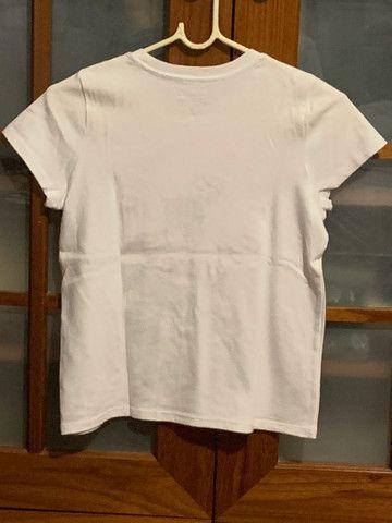 Camiseta da holister branca original  - Foto 2