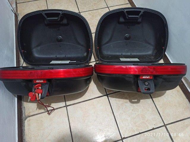 Dois Baús GIVI 46L E460N monokey. - Foto 3