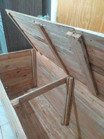 Vendo Baú de madeira - Foto 2