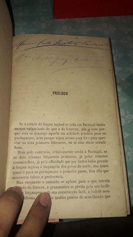 Raro livro assinado por abolicionista  - Foto 3