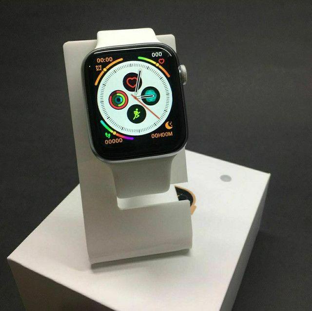 Relógio SmartWatch IWO W46 - NOVO (Compatível com Android e IOS) - Foto 2