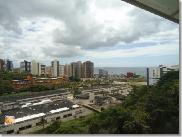 Apartamento nascente 2/4 dependência completa 1 vaga vista bosque e mar bem localizado