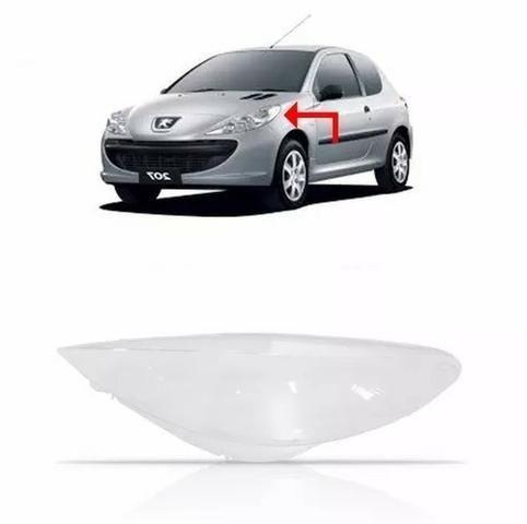 Lente Farol Peugeot 207 2009 2010 2011 2012 13 2014 Esquerdo