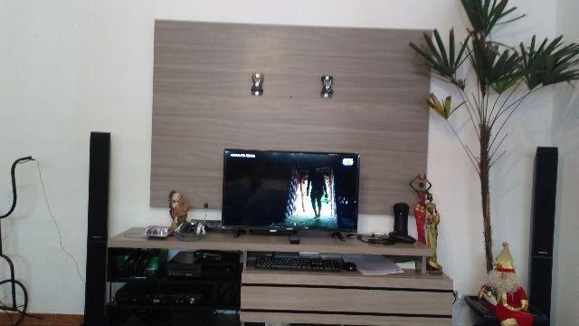 Rack para Tv em MDF com painel e suporte de TV até 60'