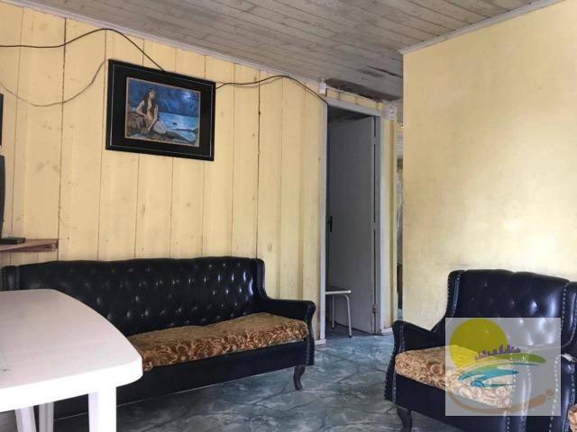 Casa de madeira a venda em no Cambiju em Itapoá-SC CA0446 - Foto 8