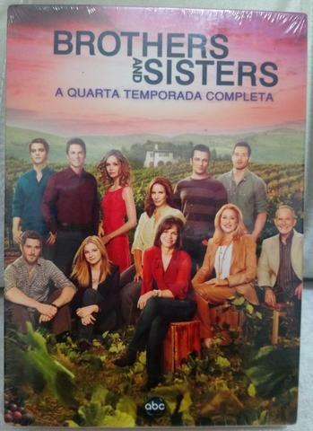 DVD Seriado Brothers and Sisters Novo - 6 Cds - tema família