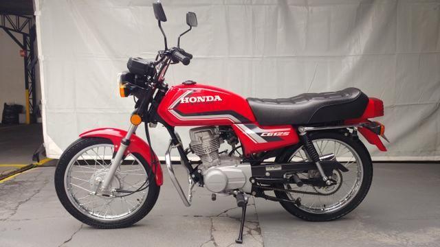 Honda CG 125 1988, apenas 2.460km