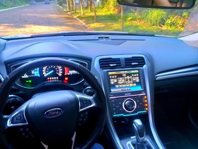 Ford Fusion Titanium awd 2015 2.0 Turbo (Pacote premium/interior caramelo) - Foto 5