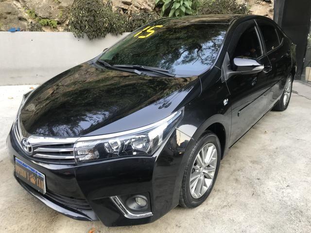 Corolla 2015 XEI Muito Novo (Troco e financio)