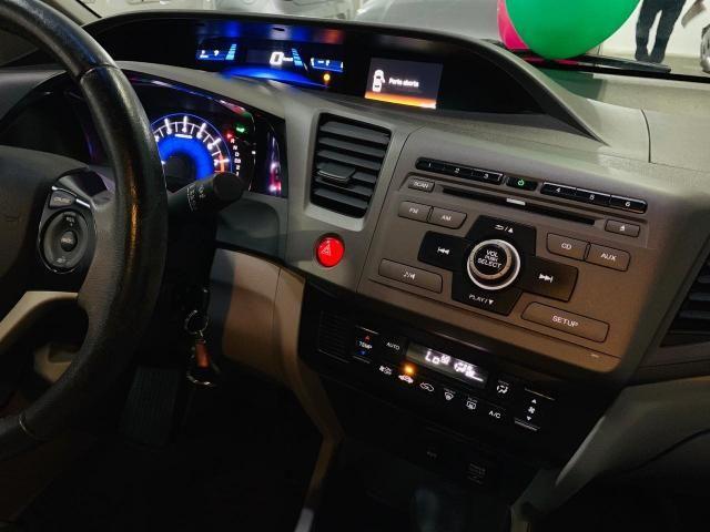 HONDA CIVIC 2012/2013 1.8 LXS 16V FLEX 4P AUTOMÁTICO - Foto 8