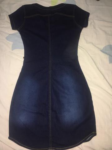 Vestido Jeans da Karen Vicius 36 - Foto 3