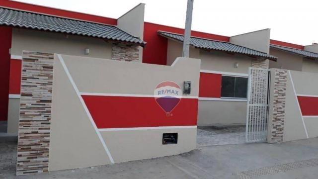 Casas Prox. ao Serv Club 02 quartos sendo um Suite - Foto 8