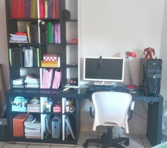 Estante - Escrivaninha com design exclusivo. Envelopada - Menor preço!