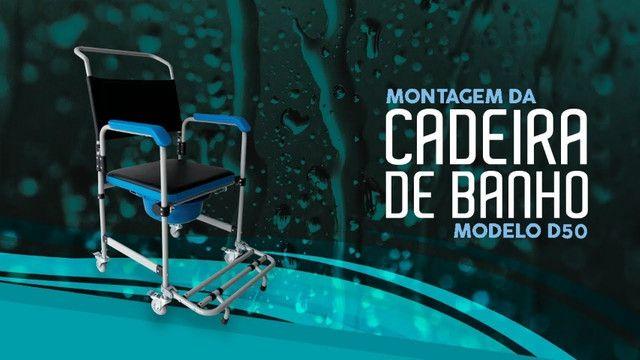 A cadeira de rodas higiênica Dellamed D50 - Foto 2