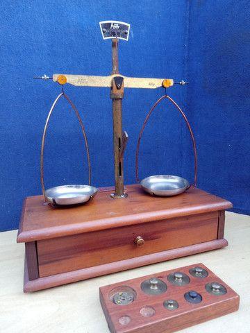 Balança de precisão antiga - Foto 5