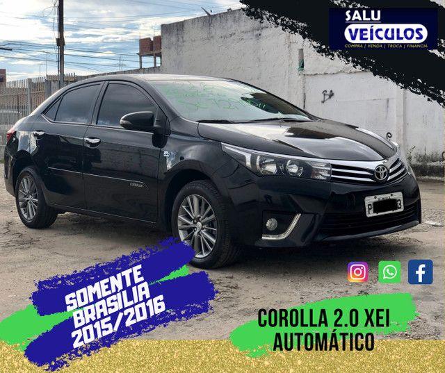 Corolla 2.0 XEI Completo automático, SÓ DF, financiamos até 100%