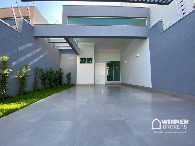 Casa com 3 dormitórios à venda, 105 m² por R$ 480.000,00 - Jardim Real - Maringá/PR