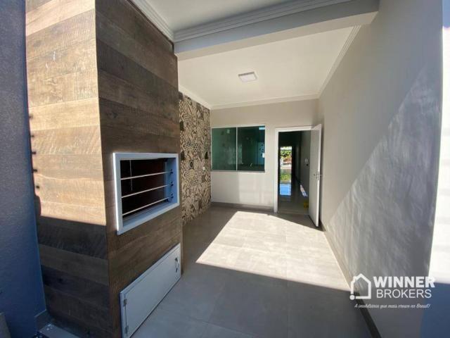 Casa com 3 dormitórios à venda, 105 m² por R$ 480.000,00 - Jardim Real - Maringá/PR - Foto 13