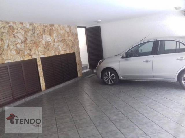 Sobrado - venda - 4 dormitórios, - 3 suítes - aluguel por R$ 4.600/mês - Vila Marlene - Sã - Foto 3