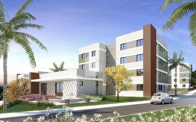 Apartamento PCD 01 quarto no Tanguá, Almirante Tamandaré - Foto 5