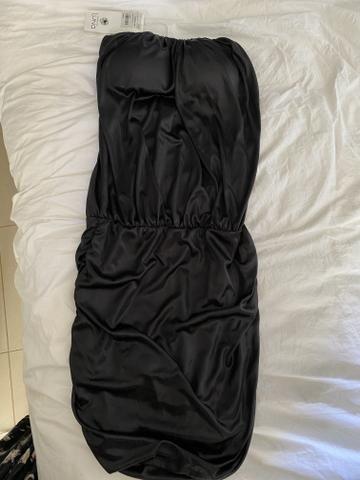 Vestido tomara que caia preto - Foto 2