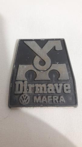 Emblema Concessionaria Dirmave VW Mafra SC