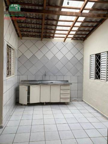 Casa com 2 dormitórios para alugar, 68 m² por R$ 450/mês - Vila Góis - Anápolis/GO - Foto 12