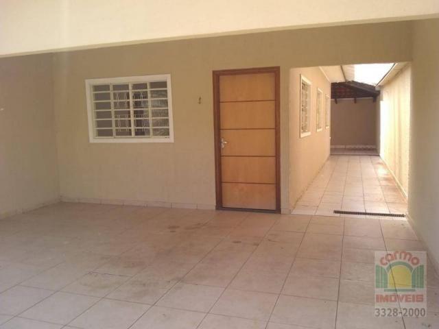 Casa com 3 dormitórios para alugar, 132 m² por R$ 1.600,00/mês - Parque Brasília 2ª Etapa  - Foto 2