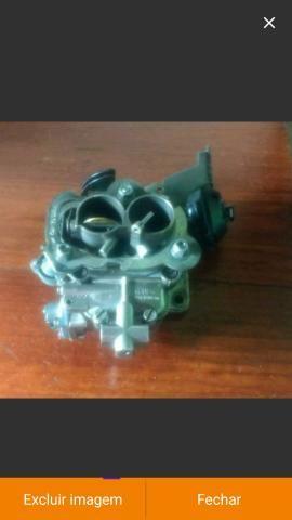 Carburador werber 1.6 álcool AP e coletor admissão escape gol quadrado - Foto 6