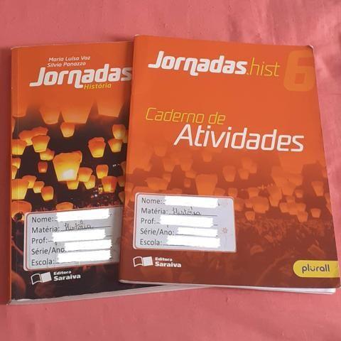 Livro História Jornadas + caderno de atividades História Jornadas