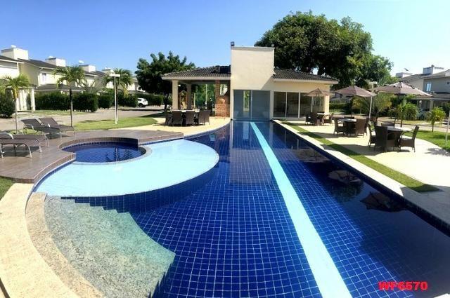 CA1743 Vendo ou Alugo, casa e condomínio no Eusébio, 3 quartos, 3 vagas, lazer - Foto 15