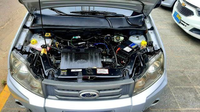 Ford ecosport xlt freestyle motor 1.6 8v flex 4p prata 2012 74.000km ipva2020pgvist - Foto 5