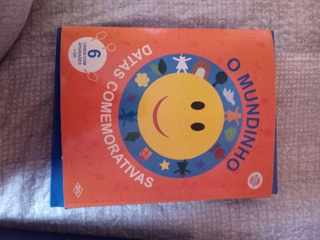 Livros com atividades + cd