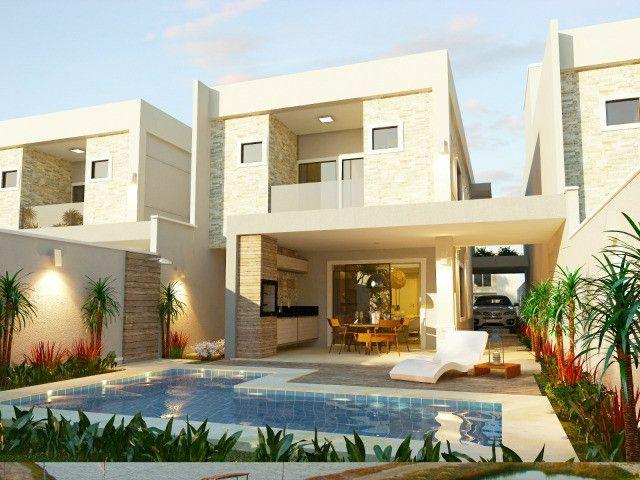 Vendo casa alto padrão em rua privativa no Eusébio. 180 m² com 4 suítes - Foto 4