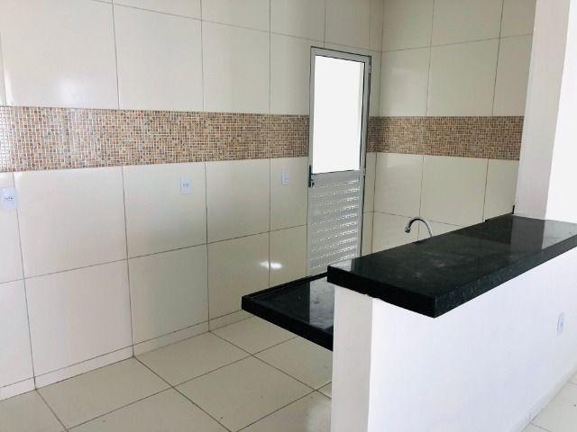 JP linda casa com 2 quartos 2 banheiros otimo acabamento com doc. gratis - Foto 7