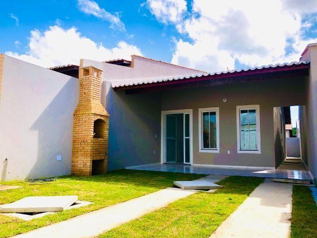 JP linda casa com 2 quartos 2 banheiros otimo acabamento com doc. gratis - Foto 2